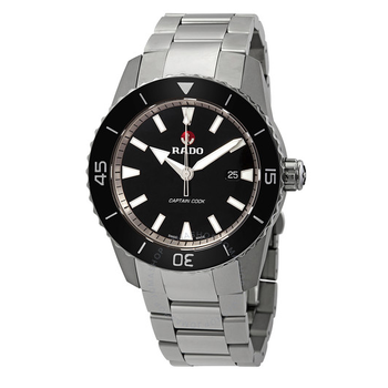HyperChrome Captain Cook Automatic Black Dial Men's Watch