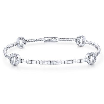 14KWG DIA .35CT FASHION BRACELET