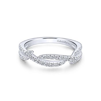 14KW .30CT DIA OPEN STACKING RING