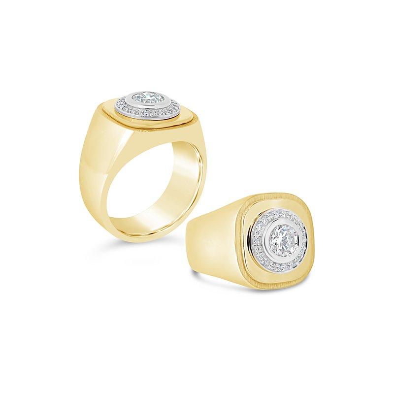 Aires Custom Fashion gents diamond ring