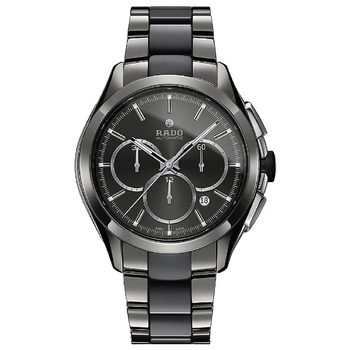 Rado Hyperchrome Grey Dial Ceramic Chrono Automatic Male Watch R32276112