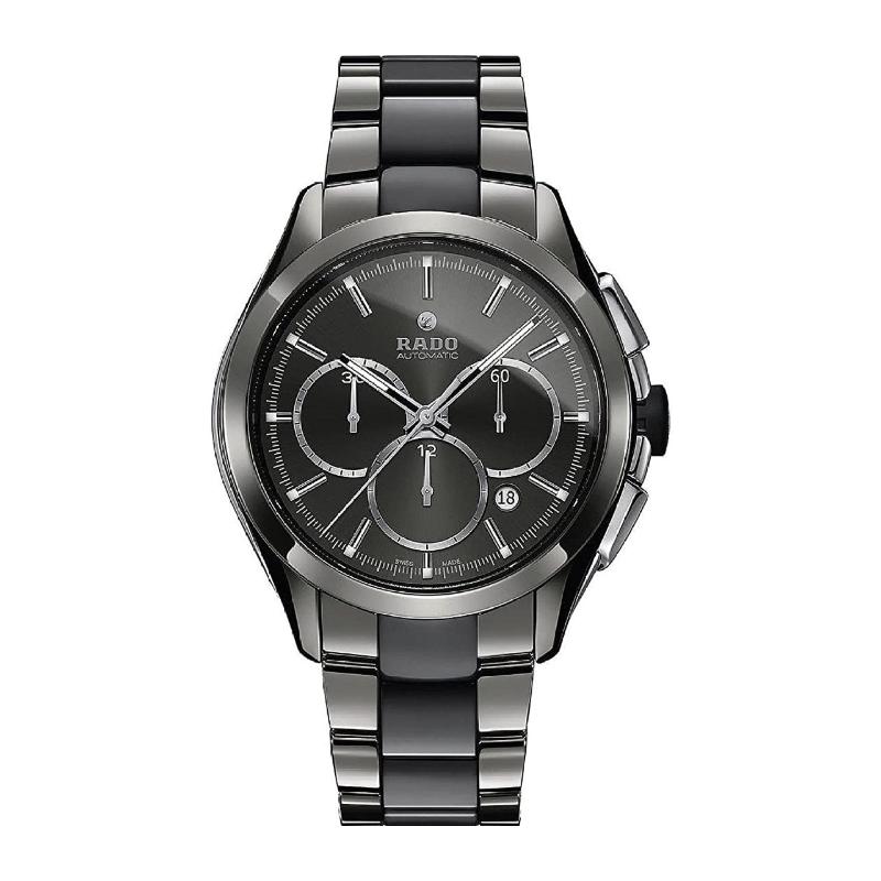 Rado Rado Hyperchrome Grey Dial Ceramic Chrono Automatic Male Watch R32276112