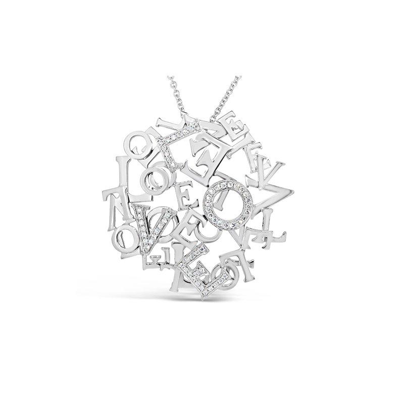 Aires Custom Fashion love pendant