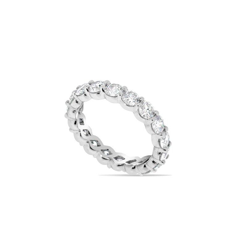 Aires Custom Bridal diamond eternity band