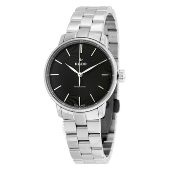 Coupole Classic Automatic Black Dial Stainless Steel Ladies Watch - 32MM