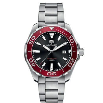 Aquaracer Stainless Steel Watch