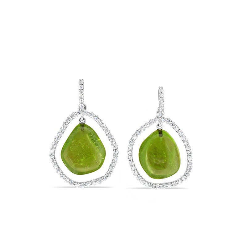 Aires Signature Collection Peridot earrings