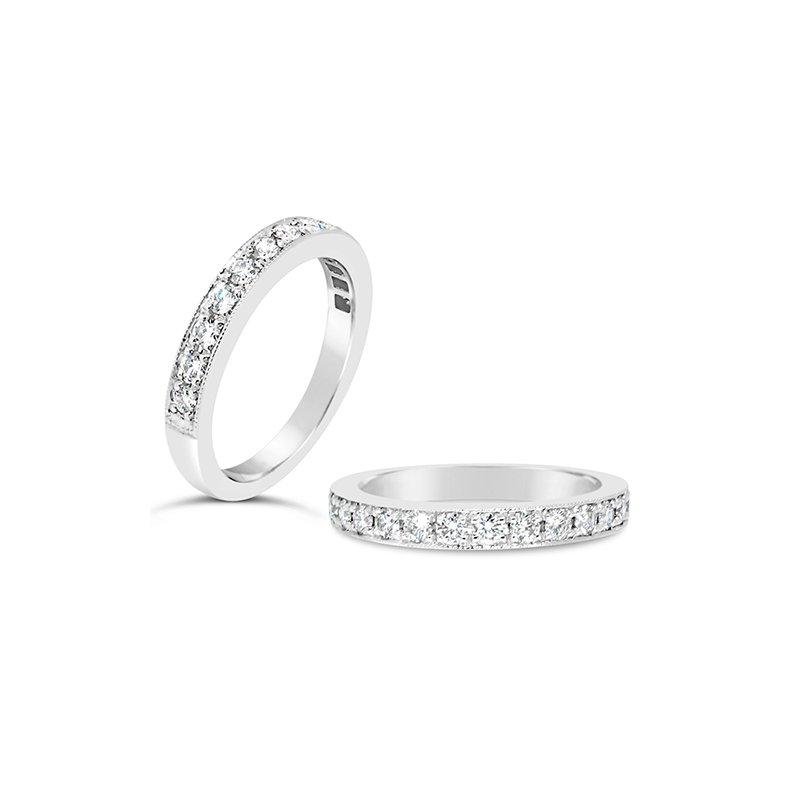 Aires Custom Bridal bead set band