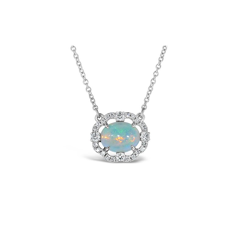 Aires Custom Fashion opal pendant