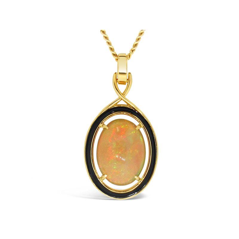Aires Signature Collection Ethiopian Opal Pendant