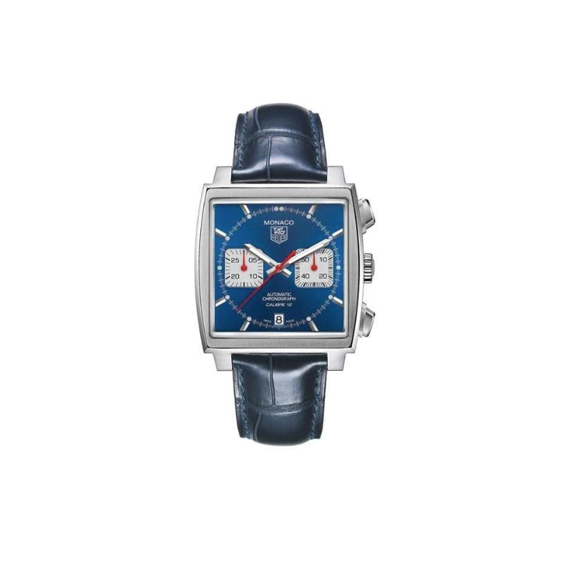 Tag Heuer Men's TAG Heuer MONACO Calibre 12 Automatic Chronograph Watch