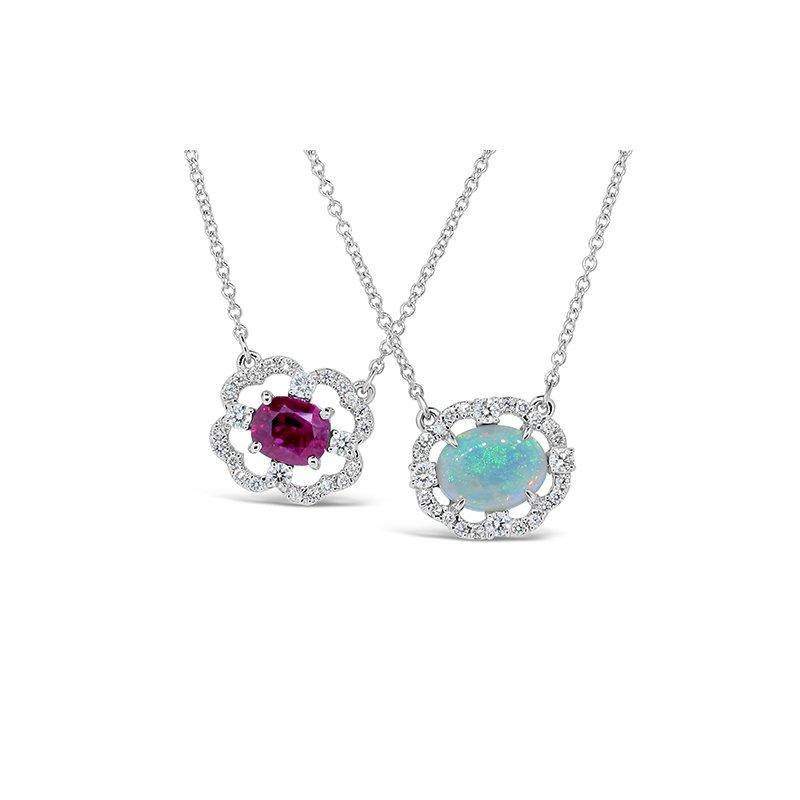 Aires Custom Fashion ruby pendant