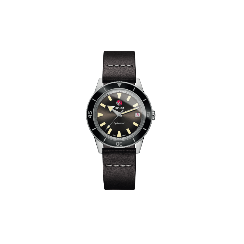 Rado Captain Cook Automatic Dark Brown Dial Men's Watch