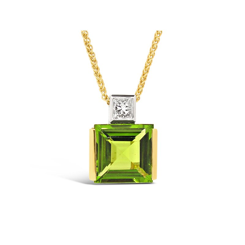 Aires Signature Collection Peridot pendant