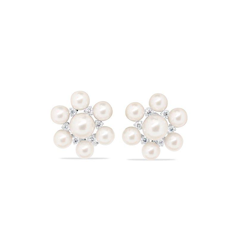 Aires Custom Fashion pearl earrings
