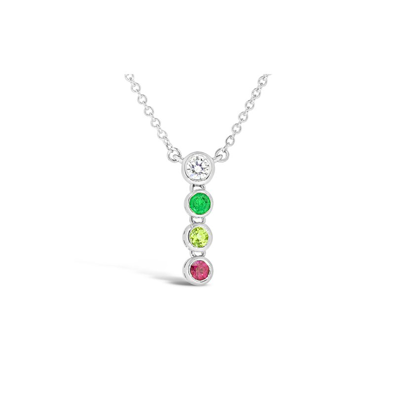 Aires Custom Fashion birthstone pendant