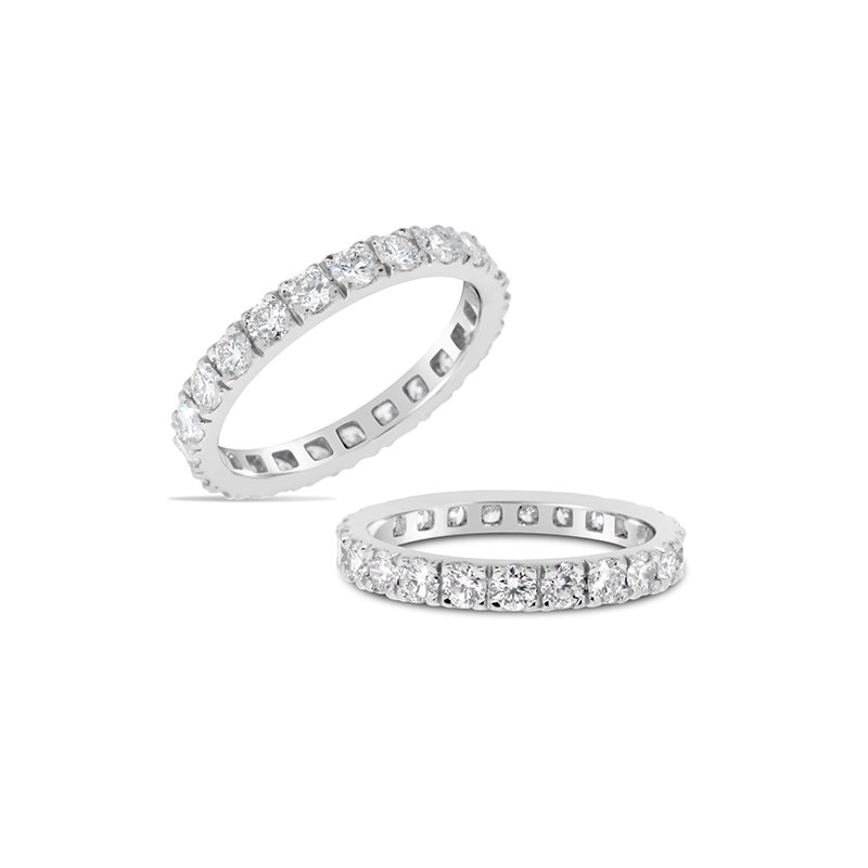 Aires Custom Bridal diamond eternity band