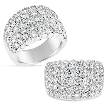 pave diamond band
