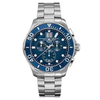 Aquaracer Chronograph Blue Dial Men's