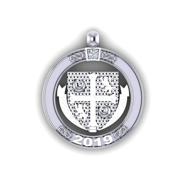 Emblem & Logo Jewelry Delbarton 1 YEAR disc