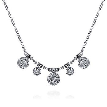 14KWG DIA .41CT NECKLACE