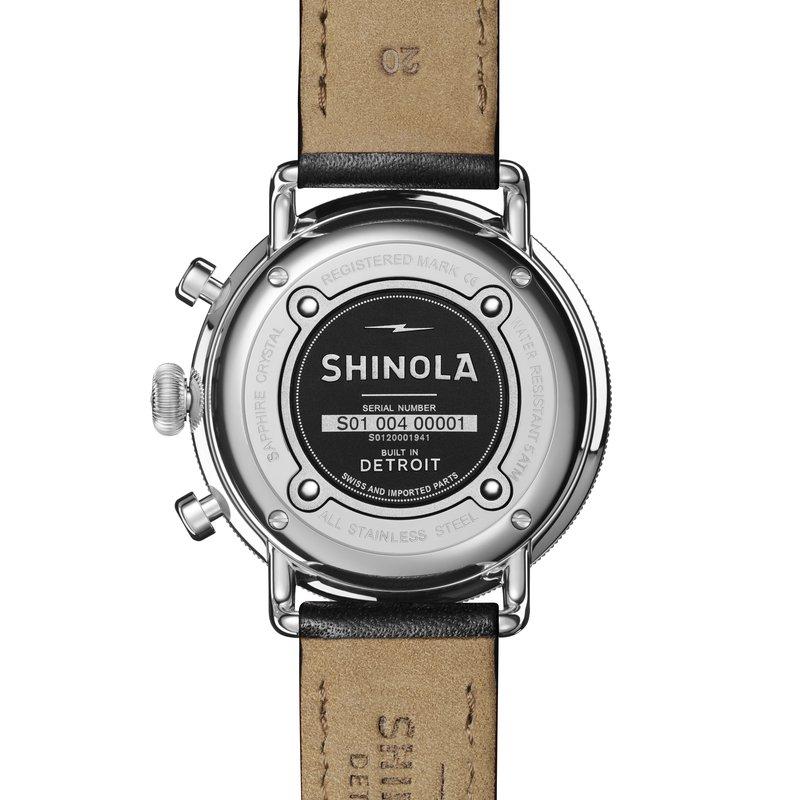 Shinola-Detroit Canfield Chrono 43mm