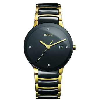 Rado Centrix Diamonds Black Ceramic Men's Watch R30929712
