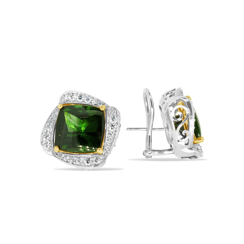 Aires Signature Collection Tourmaline earrings