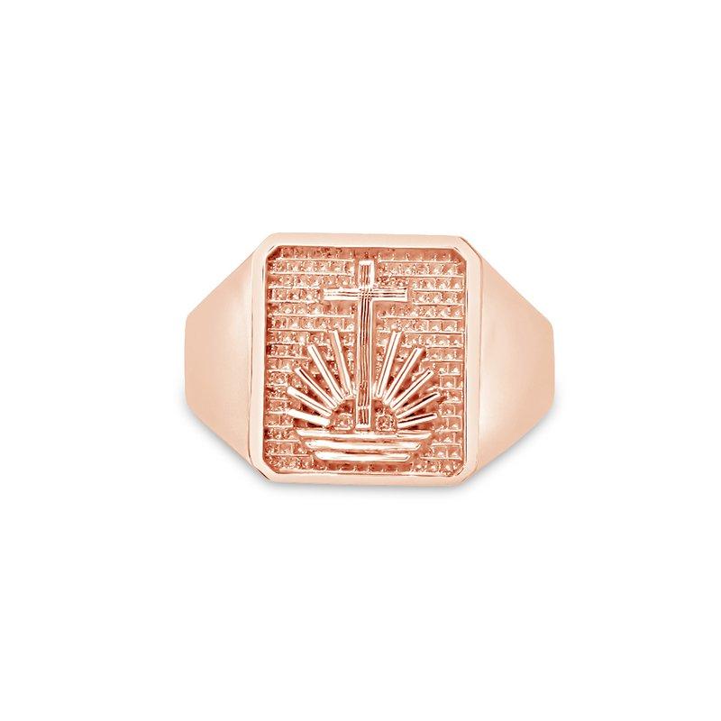 Emblem & Logo Jewelry NAC Square Gents Ring
