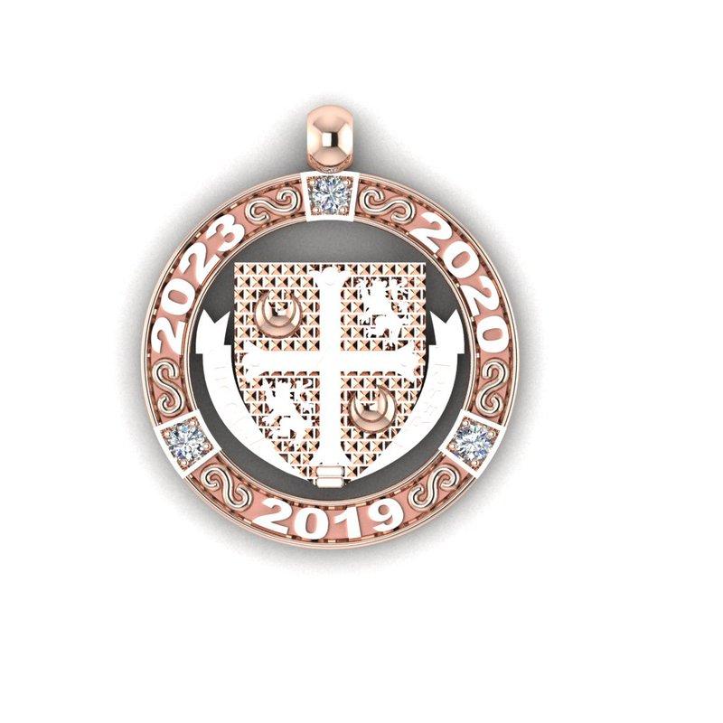 Emblem & Logo Jewelry Delbarton 3 YEAR disc