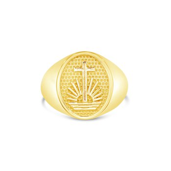 NAC Oval Gents Ring