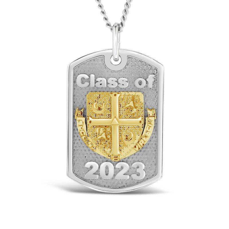 Emblem & Logo Jewelry Delbarton tag