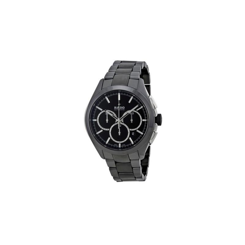 Rado Hyperchrome Chronograph Automatic Black Dial Men's Watch