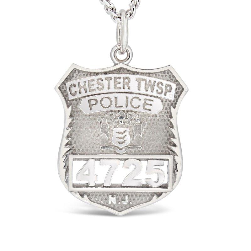 Emblem & Logo Jewelry police badge