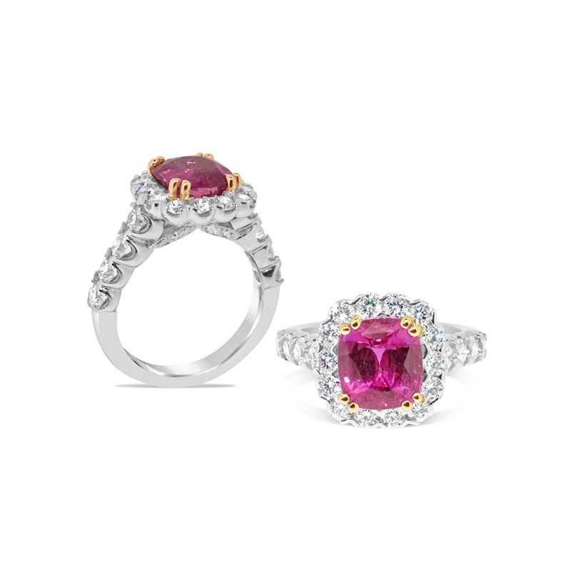 Aires Signature Collection Pink Sapphire ring