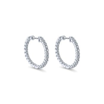 14KW 1.99CT DIA IN/OUT HOOPS 20MM