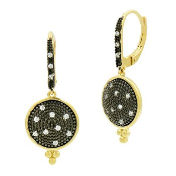SIG SS/14KYP/CZ PAVE DISC EARR