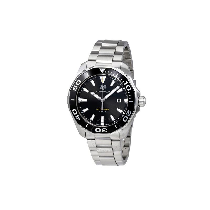 Tag Heuer Aquaracer 300M Quartz Black Dial Men's Watch