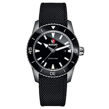 Rado HyperChrome Captain Cook Automatic Black Dial Men's Watch R32501156