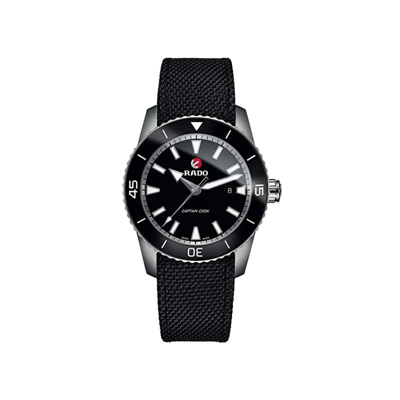 Rado Rado HyperChrome Captain Cook Automatic Black Dial Men's Watch R32501156