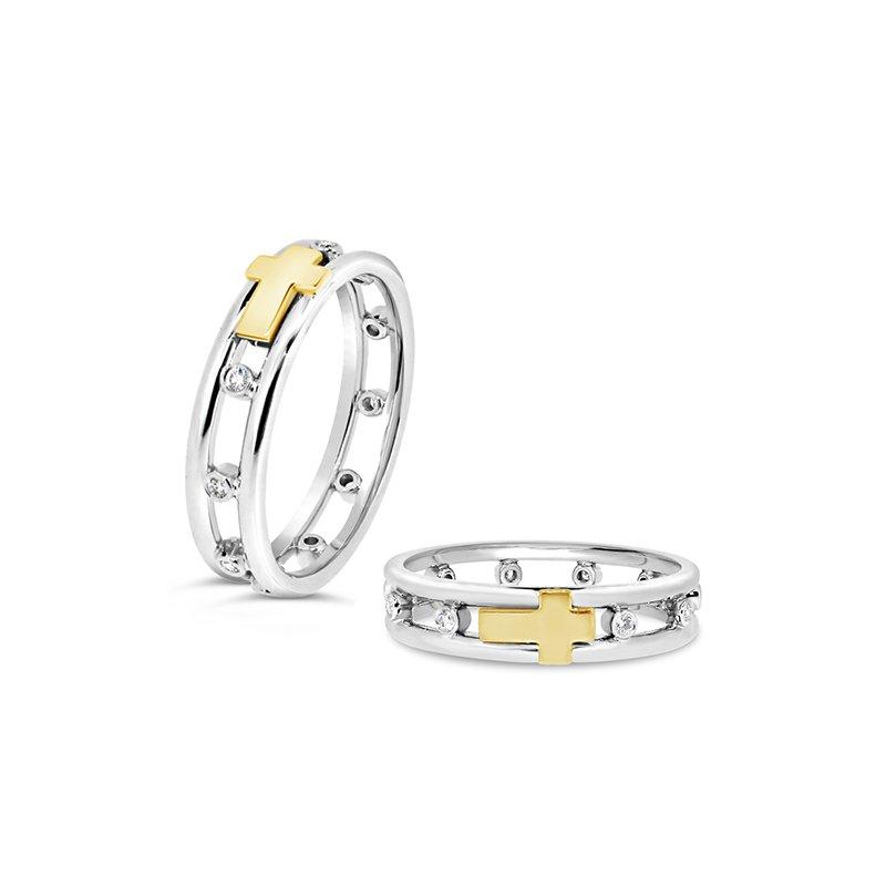 Aires Custom Fashion cross ring