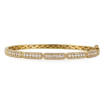 Diamond Stations Bangle