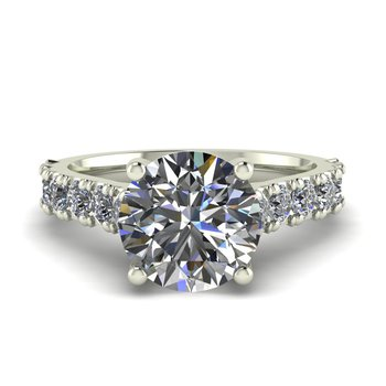 Ladies Diamond Cathedral Setting