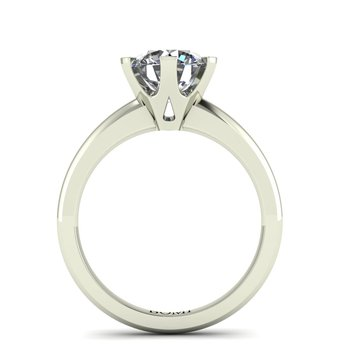 Ladies Six Prong Solitaire