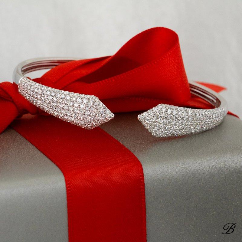 Pointed Pave Bracelet