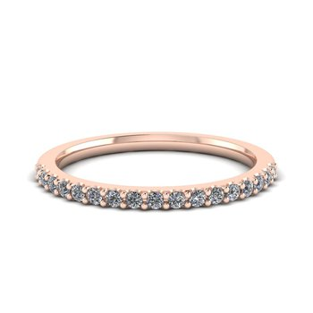 Ladies Petite Diamond Band
