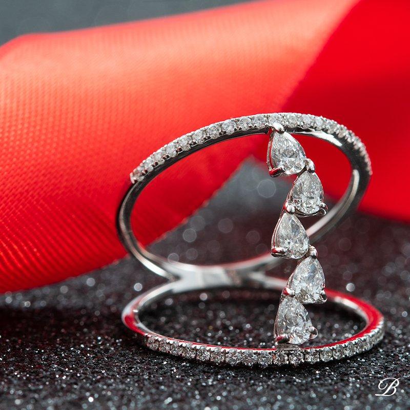 Open Style Diamond Ring