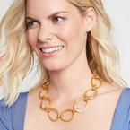 Julie Vos Aspen Link Necklace