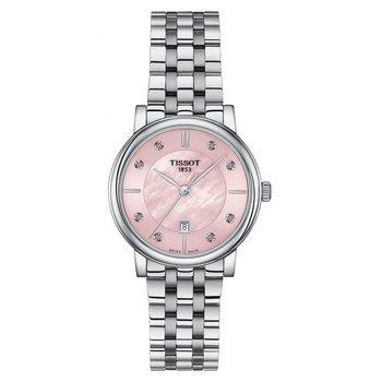 Carson Premium Quartz Lady 30mm Rose Mother-of-pearl Dial Ladies Watch T1222101115900