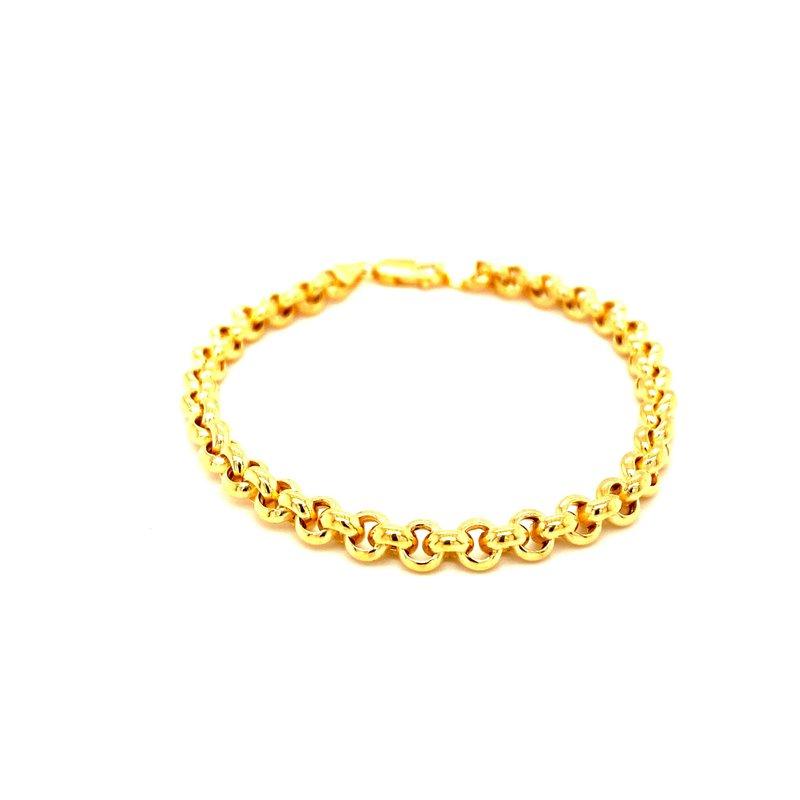 Ashley Ladies Yellow Gold Bracelet